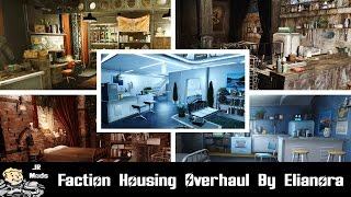 Fallout 4 Mod Showcase - Faction Housing Overhaul