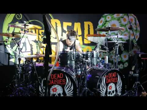 Brian Tichy (The Dead Daisies) drum solo, The Slade Rooms, Wolverhampton 26-07-16