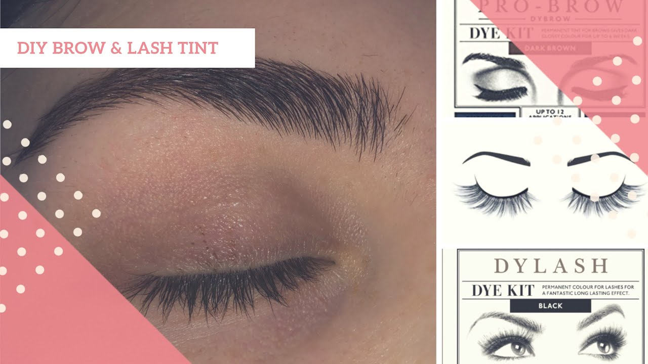 7ce2cea890b DIY: AT HOME BROW AND LASH TINT! | Eylure dybrow and dylash | Paige-Louise