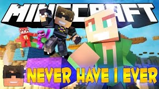 GETTING SHOT WITH FIREWORKS?! | Minecraft Never Have I Ever!