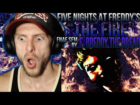"Vapor Reacts #902 | [FNAF SFM] FNAF ANNIVERSARY ""The Fire"" By E. Breddy The Bread REACTION!!"