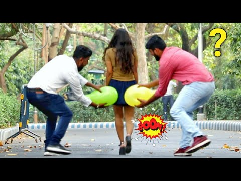 🎈Balloon Blast Prank on Cute Girls 😱😱 Part-2 by PrankBuzz