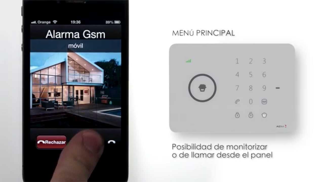 Sistema de alarma gsm youtube - Sistema de alarma gsm ...