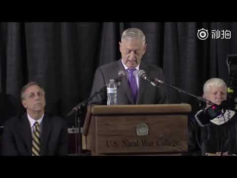 【视频+中文字幕】美国防部长:中国正在复制明朝模式试图改变国际秩序