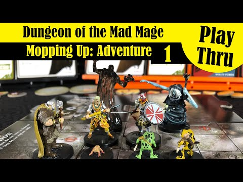 Waterdeep: Dungeon Of The Mad Mage - Adventure 1 Play Thru