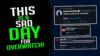 This Is A Sad Day For Overwatch! - Overwatch Streamer Moments Ep. 15