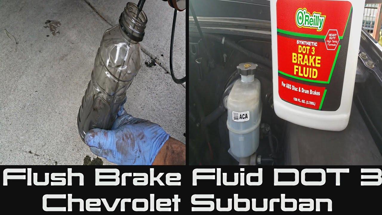 1998 chevy silverado brake fluid