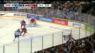 IIHF 2016 World Junior Championship Gold Medal Game Russia vs. Finland 3:4 OT