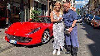 Waiter Receives Surprise Ferrari Delivery!