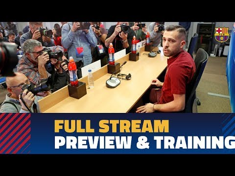 BARÇA 4-1 ROMA   Press conference and training session full stream