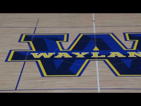 Wayland's New Gym Floor