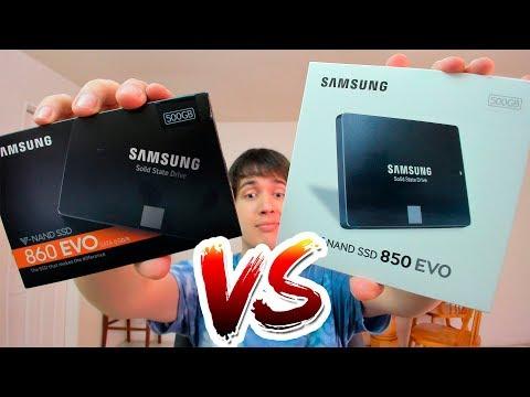 Samsung 850 EVO VS 860 EVO Reseña y Comparación
