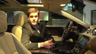 Jaguar XJ with Bowers & Wilkins car audio system (CES 2010)
