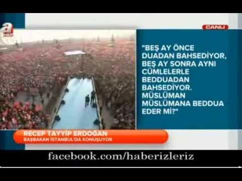 Ak Parti başbakan Erdoğan Büyük İstanbul Mitingi 23 Mart 2014 | Yenikapı
