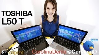Toshiba Satellite L50T L50 review Videorama