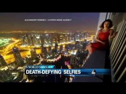 Most Terrifying Death Defying Selfies !!!