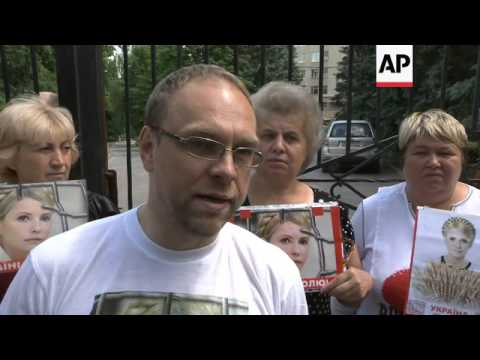 INTERVIEW WITH TYMOSHENKO'S LAWYER AND A DOCTOR