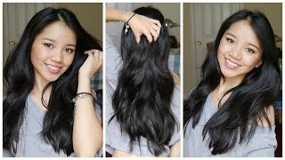 Get Long, Healthy Hair on a Budget!   No Heat Haircare Routine