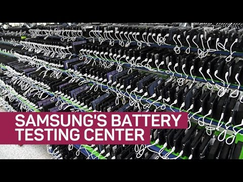 What I saw inside Samsung's battery testing center