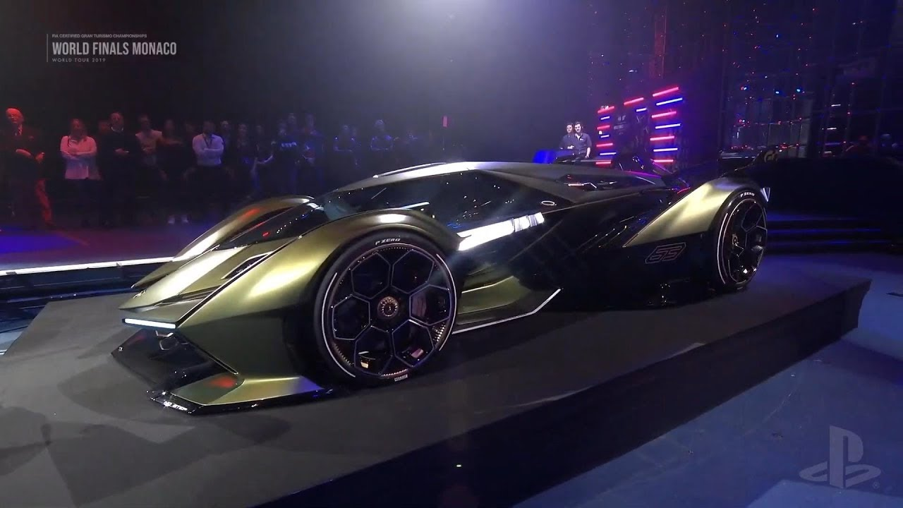Gran Turismo Sport - Lamborghini Lambo V12 Vision Gran Turismo Reveal