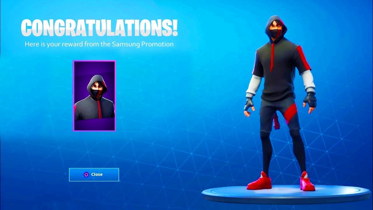 how to get the iconic skin for free