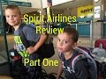 Spirit Airlines Review | Tips for spirit personal item policy | Part One