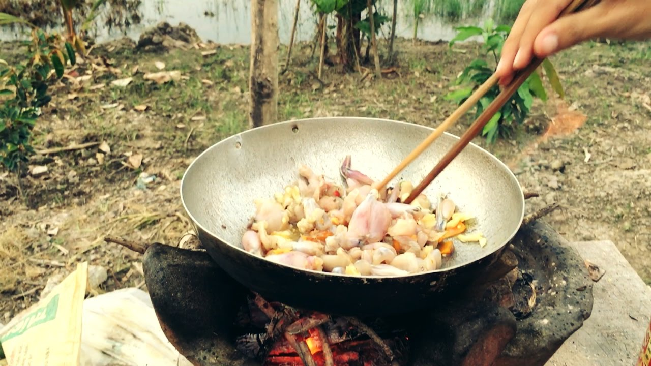MGMienTay - ẾCH XÀO LĂN - Nấu ăn dân dã - MÓN NGON MIỀN TÂY
