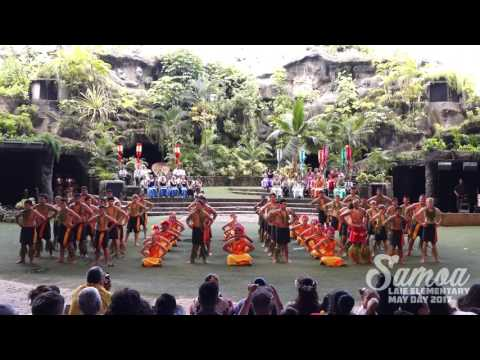 Laie Elementary 6th Grade May Day 2017 - Samoa