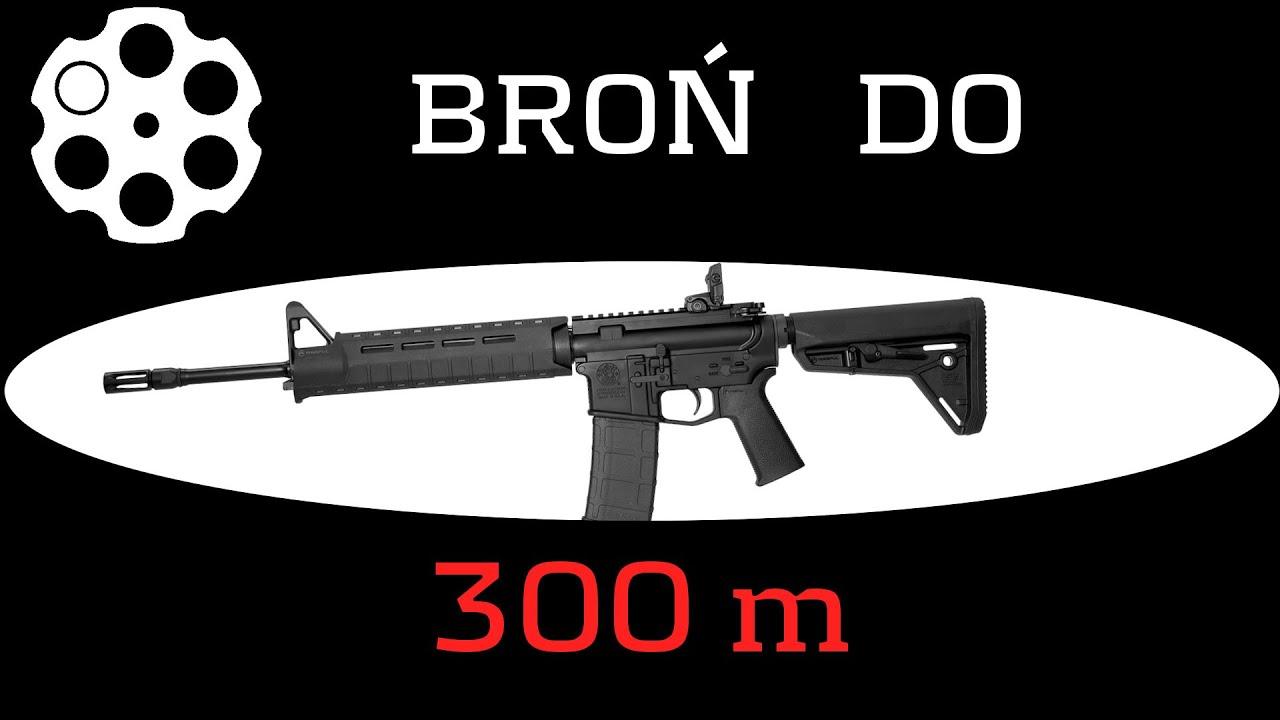 #165 Jaka broń do 300 m. Pół żartem, PÓŁ SERIO.