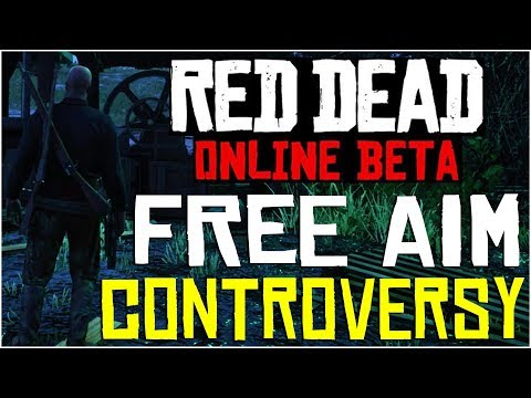 FREE AIM: THE BIGGEST CONTROVERSY ON THIS GAME!! - Red Dead Redemption 2 Online thumbnail