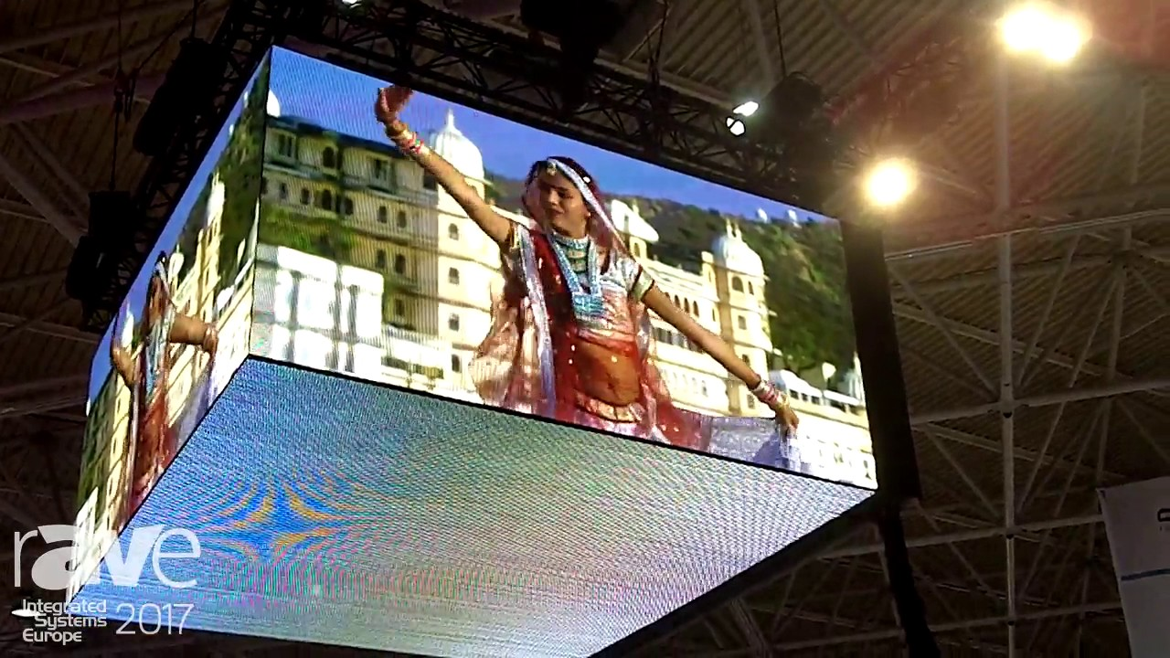 ISE 2017: Daktronics Shows Off HDR LED Display