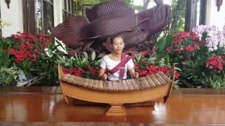 Traditional music at the lobby of Angkor Palace Resort & Spa, Siem Reap, Cambodia.
