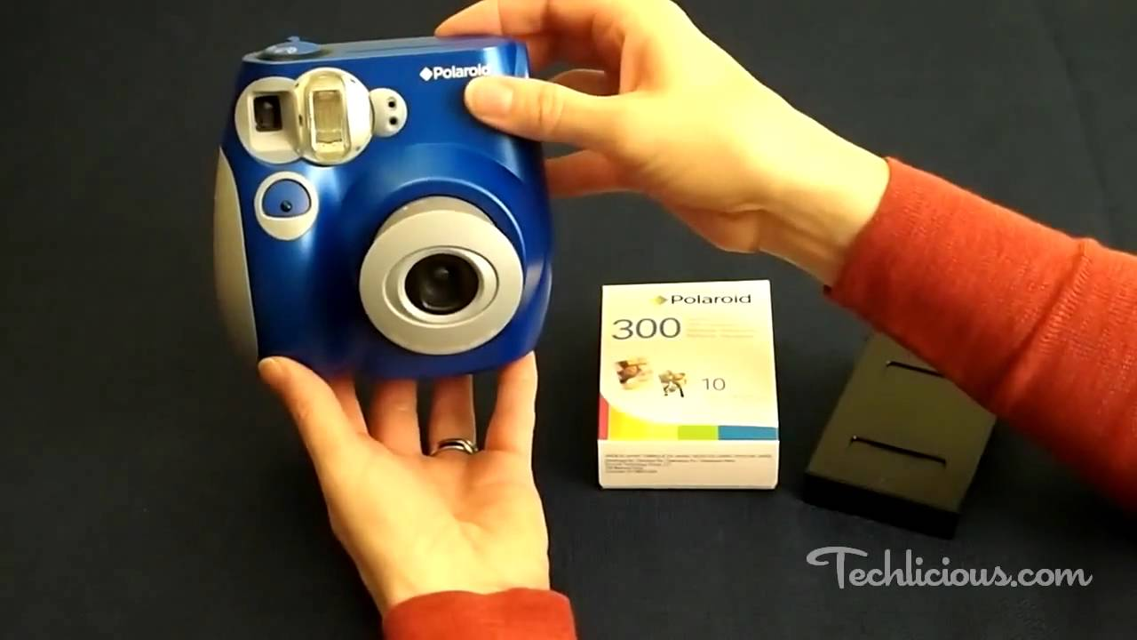 4ec95e034d Review of the Polaroid 300 Instant Film Camera - YouTube