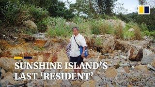 Last 'resident' of Hong Kong's abandoned Sunshine
