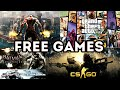 Top 10 Paid games for PC for free.( Watch Dogs 2, Far Cry, AC unity, COD, WWE,NFS ,etc)