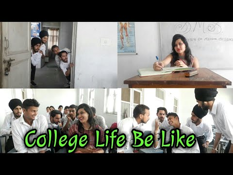 College Life be like ft.SMS College..Jammu funny video
