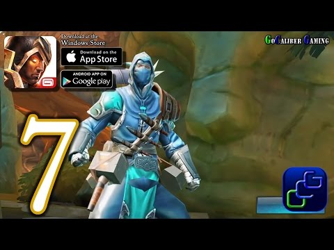 Dungeon Hunter 5 Android IOS Walkthrough - Part 7 - Solo Bounty 7-8 (EASY)