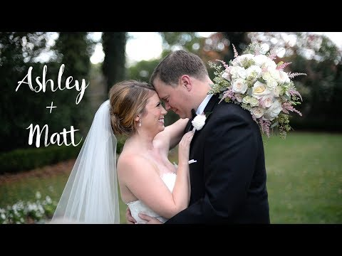 Ashley + Matt | Highlights | Charlotte Wedding | Separk Mansion Wedding