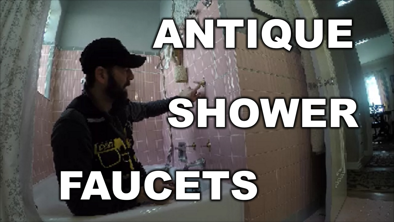 how to repair antique shower faucet the handyman