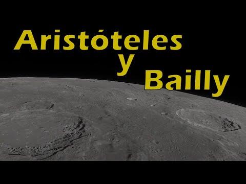 Paseo virtual por la Luna  Aristóteles y Bailly