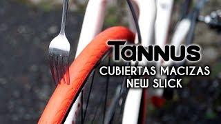 Tannus Cubierta 700x23c Slick Neum/ático Antipinchazos Bici Carretera