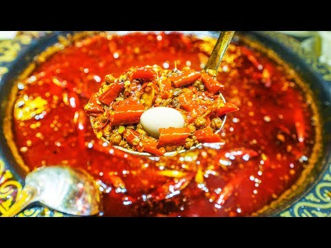EXTREME SPICY CHINESE FOOD CHALLENGE in SICHUAN, China | DEATH LEVEL SPICY HOT POT CHALLENGE!!!