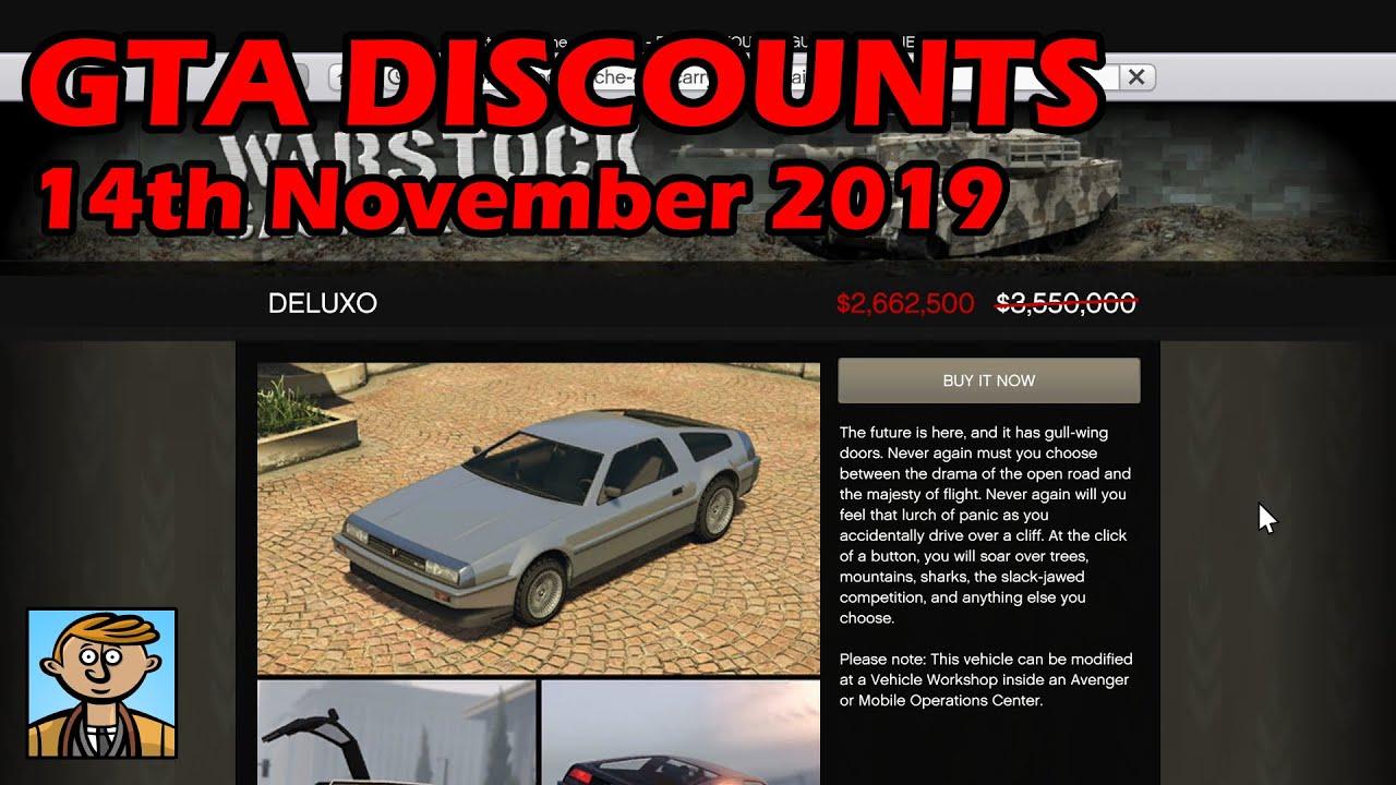 Online Car Sales >> Gta Online Best Vehicle Discounts 14th November 2019 Gta 5 Weekly Car Sales Guide 12