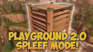 НОВ PLAYGROUND 2.0 MODE SPLEEF! - Fortnite