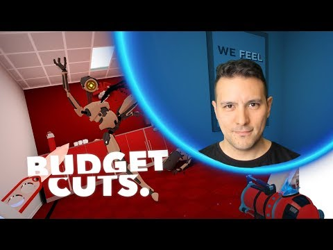 Seb Plays Live: Budget Cuts on Samsung Odyssey Windows Mixed Reality - Budget Cuts Gameplay