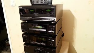Mid 1990's Technics 530 mid-sized stereo component system review