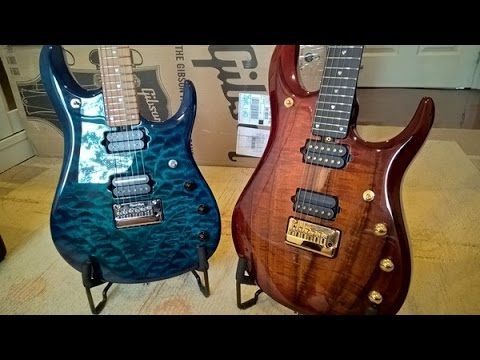 Music Man JP BFR Koa vs PDN Neptune Blue Shootout