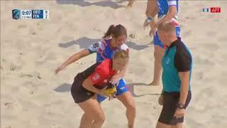 European Beach Fives Rugby Championship 2018: Italia - Georgia [Moscow 04.08.2018]