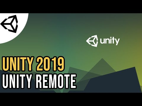 Connect Your Android To Unity - Unity Remote [Tutorial][C#] - Unity Tutorial 2019