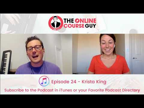 Online Math Courses with Krista King (OCG Podcast Episode 24)
